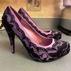 Marco Santi NEW satin & lace heels
